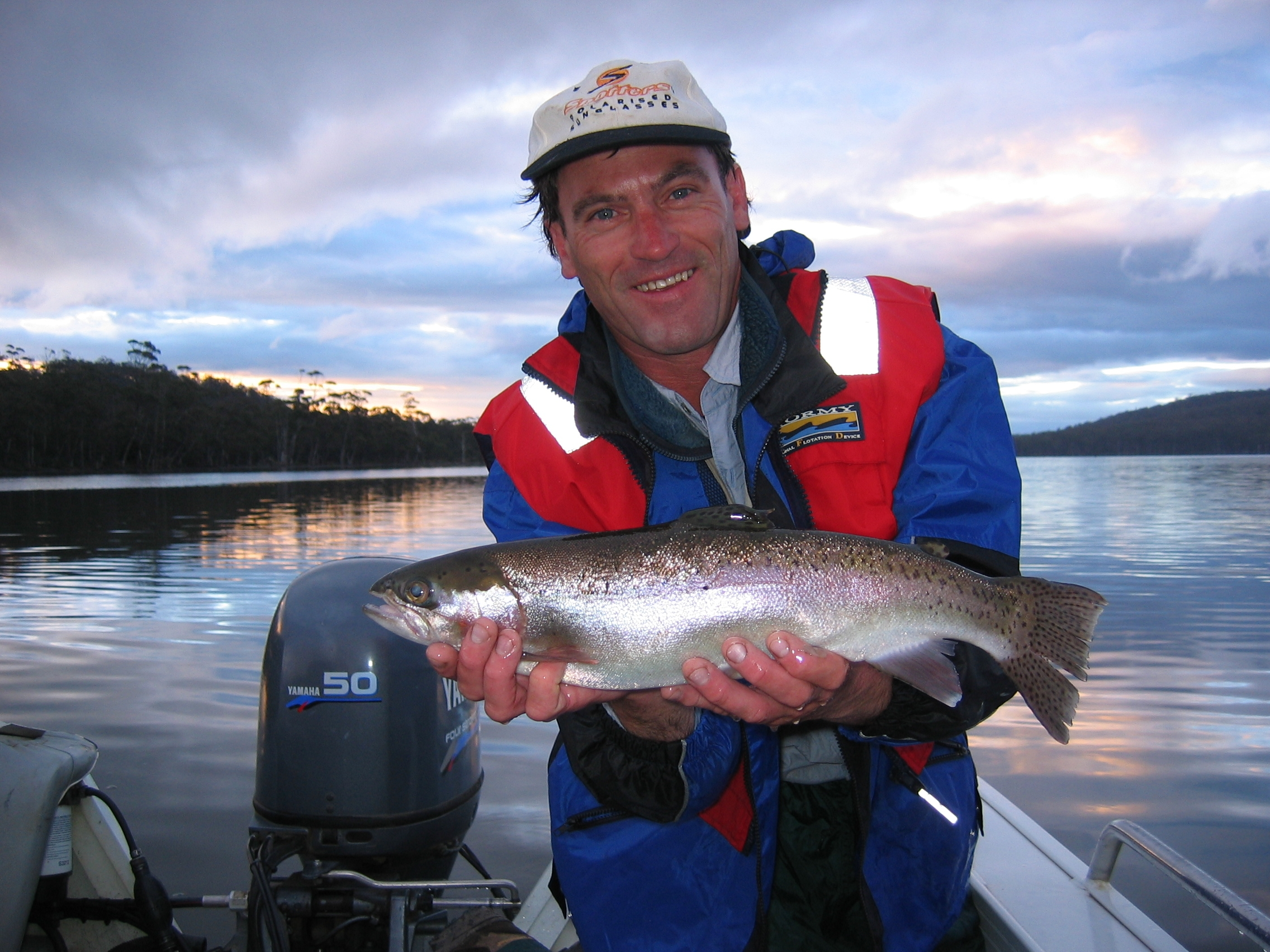 Gary France, head guide at Trout Territory